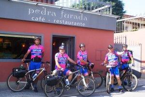 2011-09-15 - Restaurante Pedra Furada - 1ª etapa a Santiago de Compostela