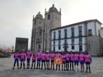 2014-04-12 e 2014-04-13 - 3º Passeio Dar ao Ped@L - Porto / Fátima - Na Sé Catedral do Porto, antes da partida.