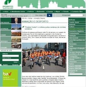Pedalar contra o Linfoma - 25-09-2011