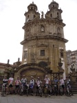 2014-06-08 - Partida de Pontevedra, com o GDBPI - Caminho Português da Costa - Santiago de Compostela