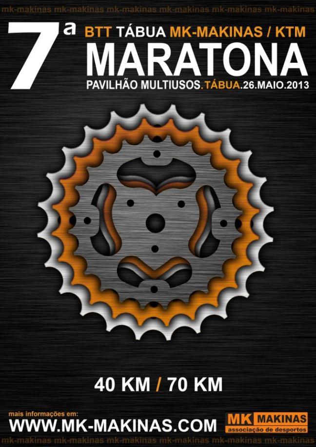 2013-05-26 – 7ª Maratona BTT Tábua - MK Makinas - Tábua