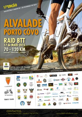 2015-05-17 - 17.ª Edição Raid BTT - Alvalade - Pôrto Covo
