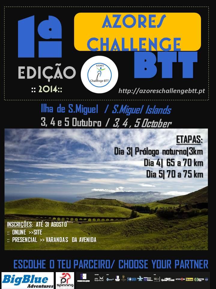 Azores Challenge BTT 2014 (1/6)
