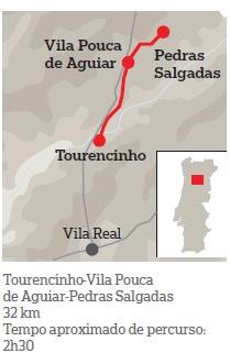 BTT - Vila Real - Chaves - pela antiga Linha do Corgo (CP) (1/6)