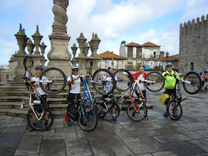 Peregrinação a Santiago de Compostela em BTT com o Grupo Desportivo BPI (2/6)