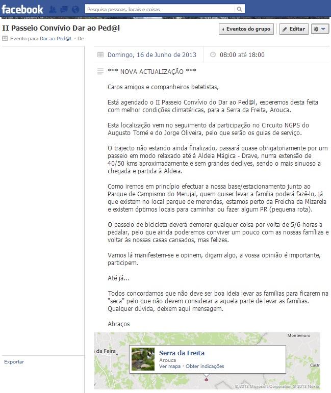 2.º Passeio Dar ao Ped@L - Serra da Freita – Arouca (1/4)