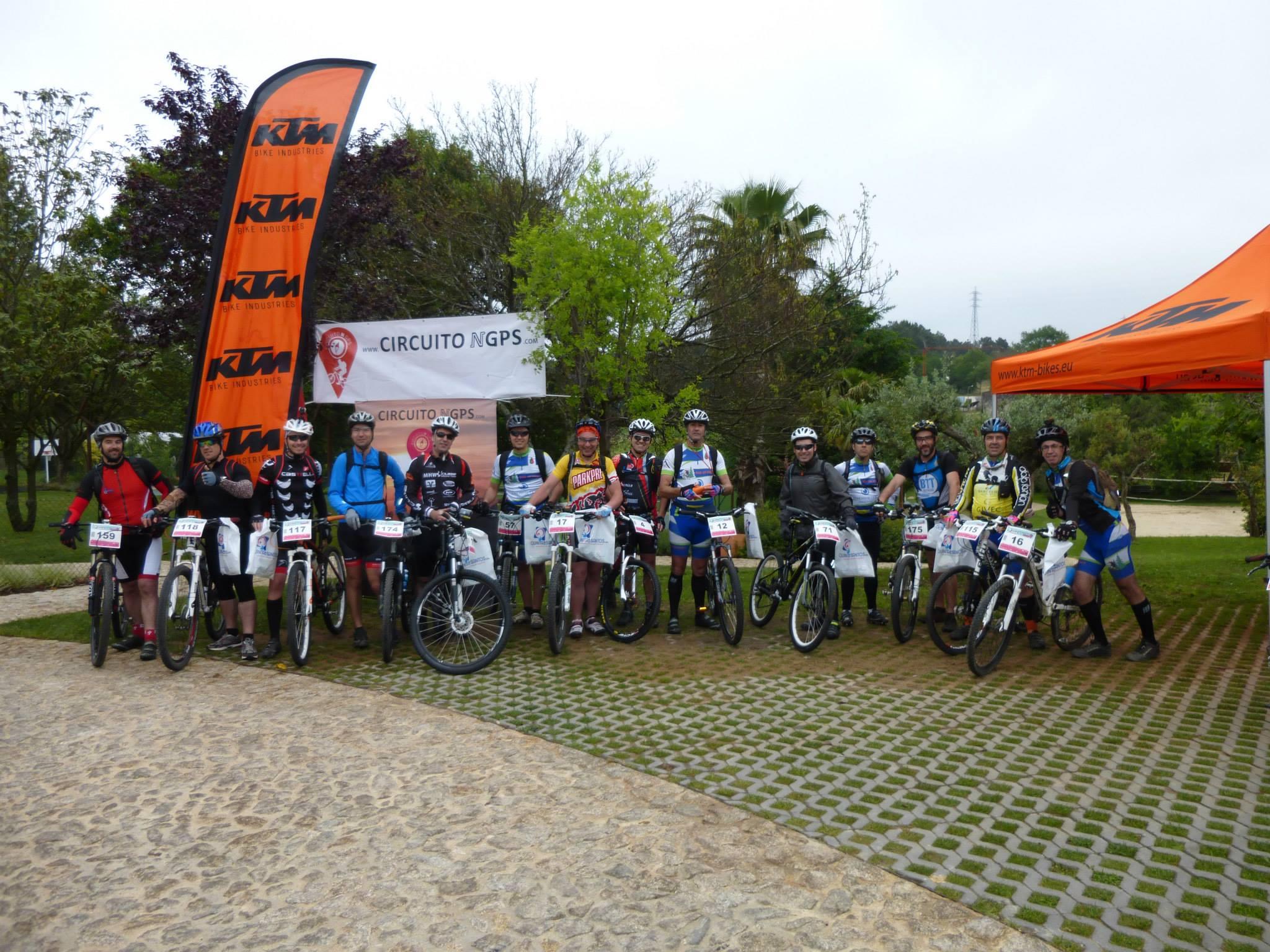 Participantes na Rota do Galo!