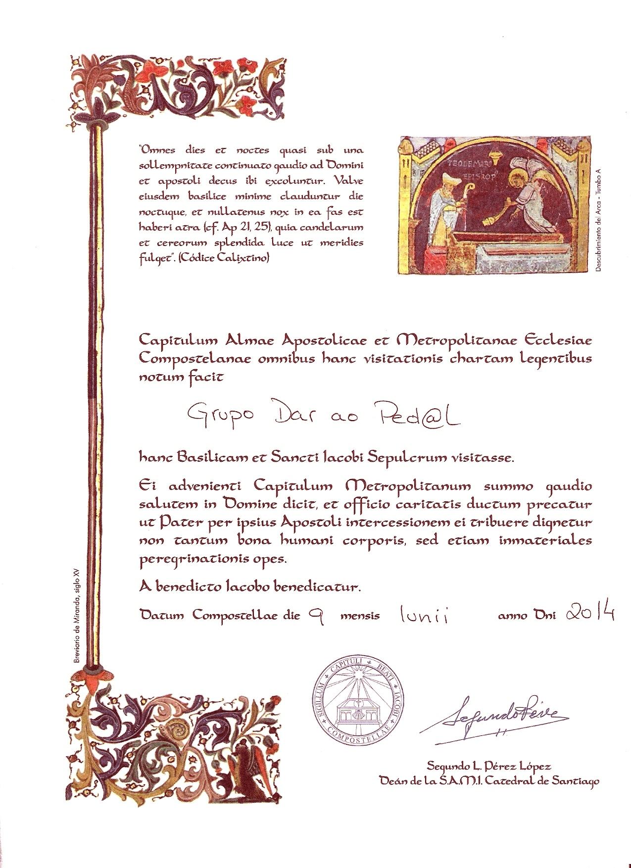 Certificado_CaminhoCosta2014