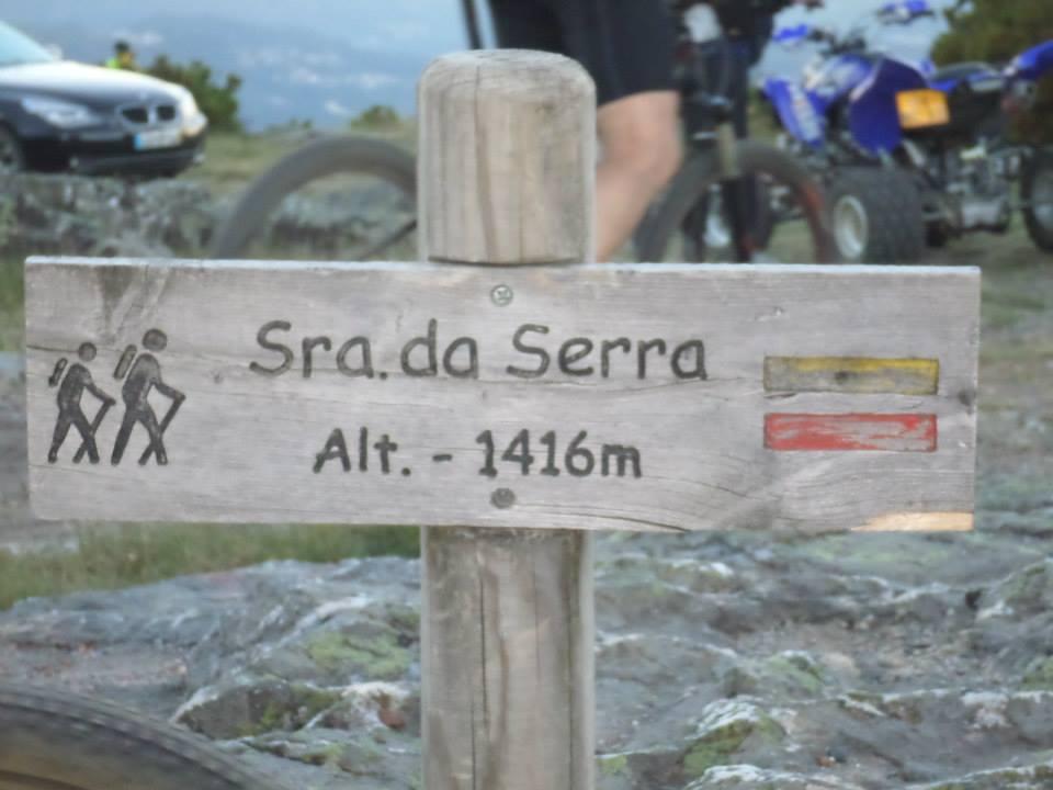 1416 m de altitude, no cimo da Serra do Marão