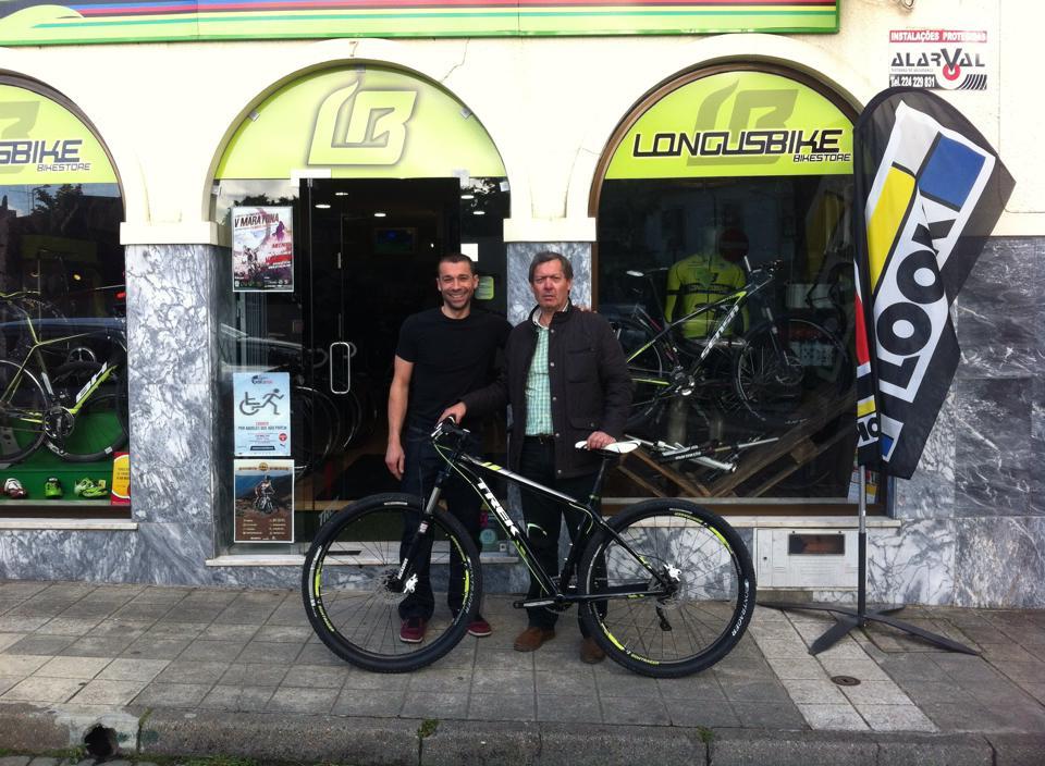 """A nova """"menina"""" do Presidente, made in Longusbike."""